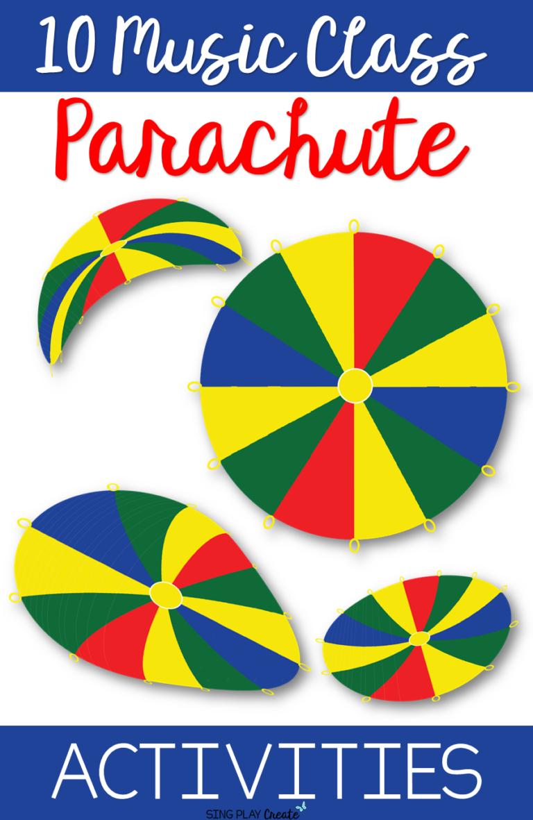 10 Music Class Parachute Activities | Music Teaching Ideas