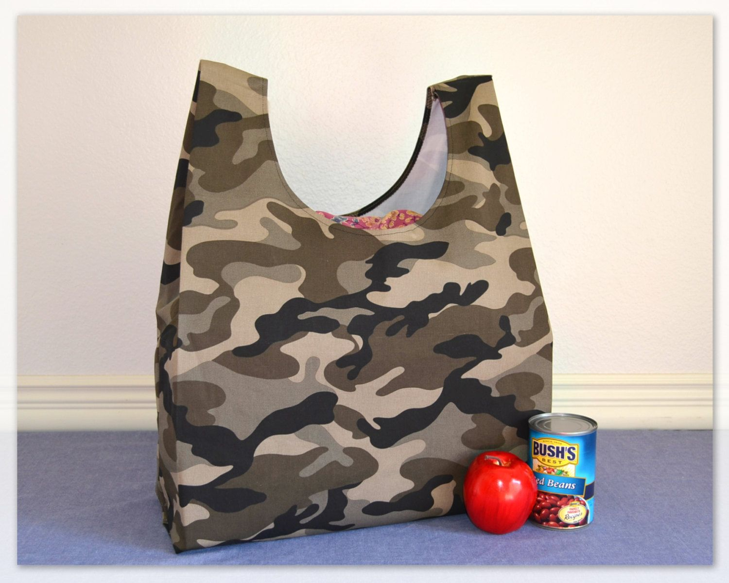 Reusable Grocery Bag / Reusable Tote / Farmers Market Bag ...