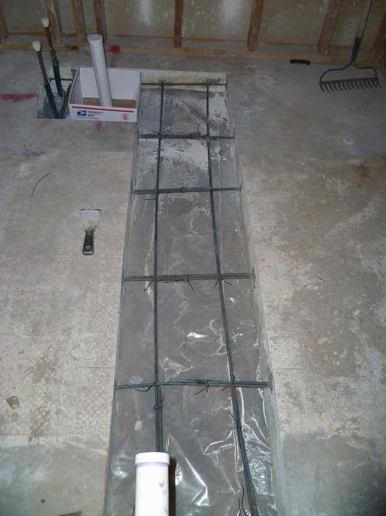 Slab Repair After Plumbing Work Doityourself Com Community Forums Brick Masonry Plumbing Apartment Renovation