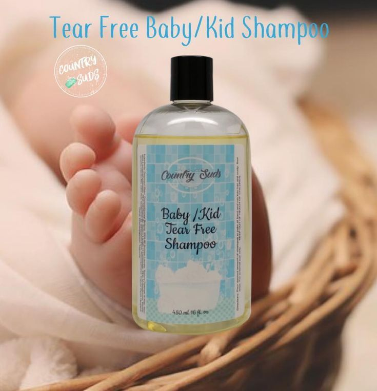 Baby kid tear free shampoo from country suds our tear