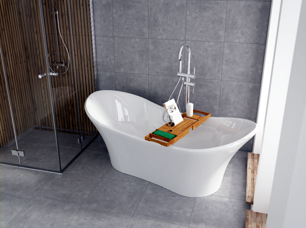 Wanna Wolnostojaca The North Bath Thor Z Polka Wanny Wolnostojace Bath Budowadomu Remontlazienki Bathroom Design Bath Interior