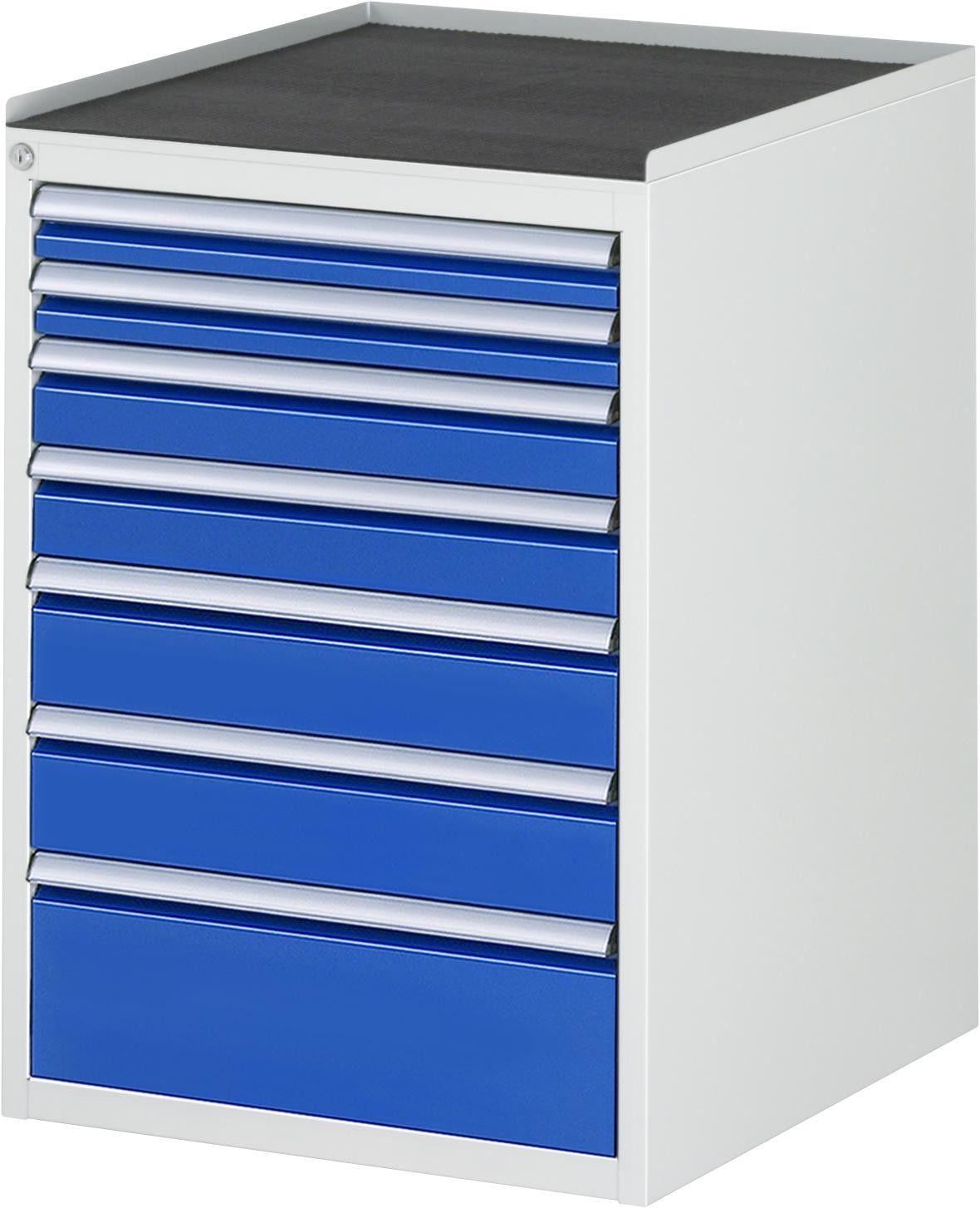 Schubladenschrank Serie 7000 Typ L5 0a 580x650x825mm Metall Top Vollauszug In 2020 Schubladenschrank Schubladen Schubladenauszug