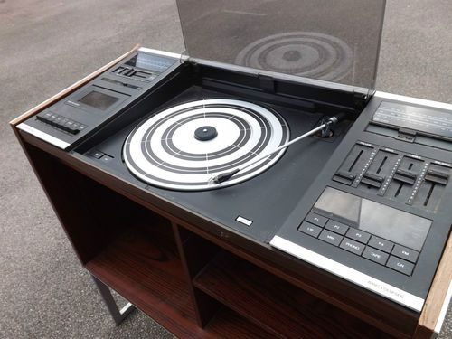 ebay watch 1970s bang olufsen beocenter 2000 audio system old school electronics of the 50. Black Bedroom Furniture Sets. Home Design Ideas