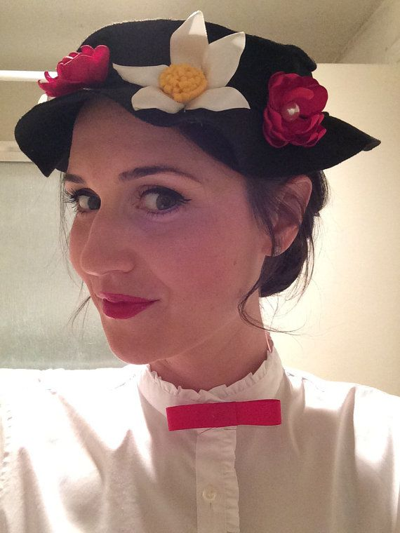 Mary Poppins Costume Hat Costume Impersonations Mary Poppins