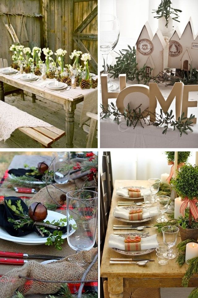 Christmas Table Decor & Christmas table decor from around the web | Just I liked ...