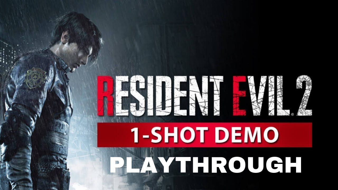 Resident Evil 2 Remake 1-Shot Demo Playthrough + Ending