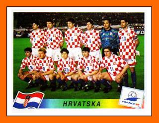 1998 Croacia, World Cup Team Fifa world cup, Football