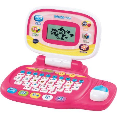 Vtech Tote Go Laptop Pink Products Toys Baby Toys Dolls