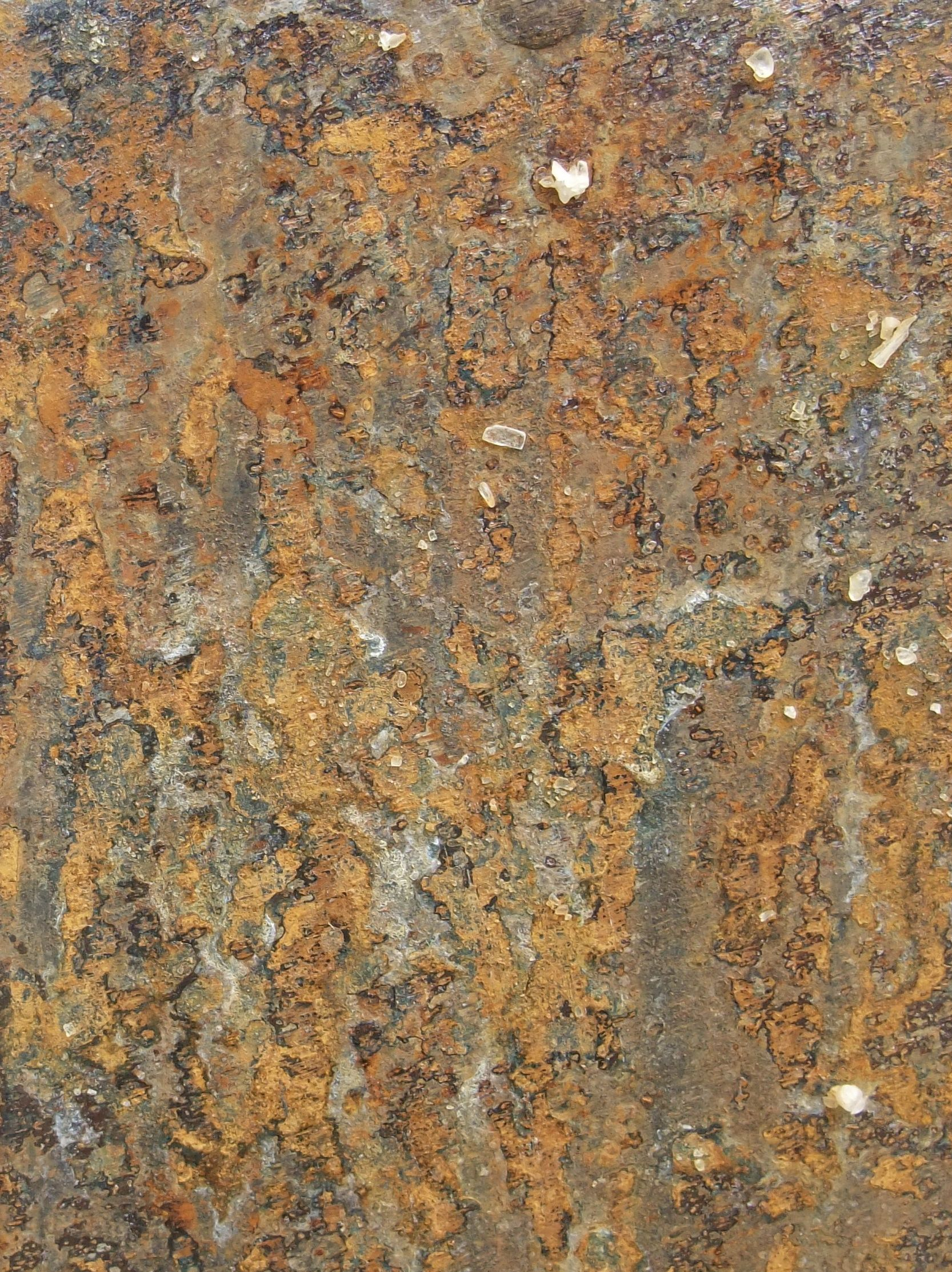 Rust surface by hannah woodhouse available for wall lights