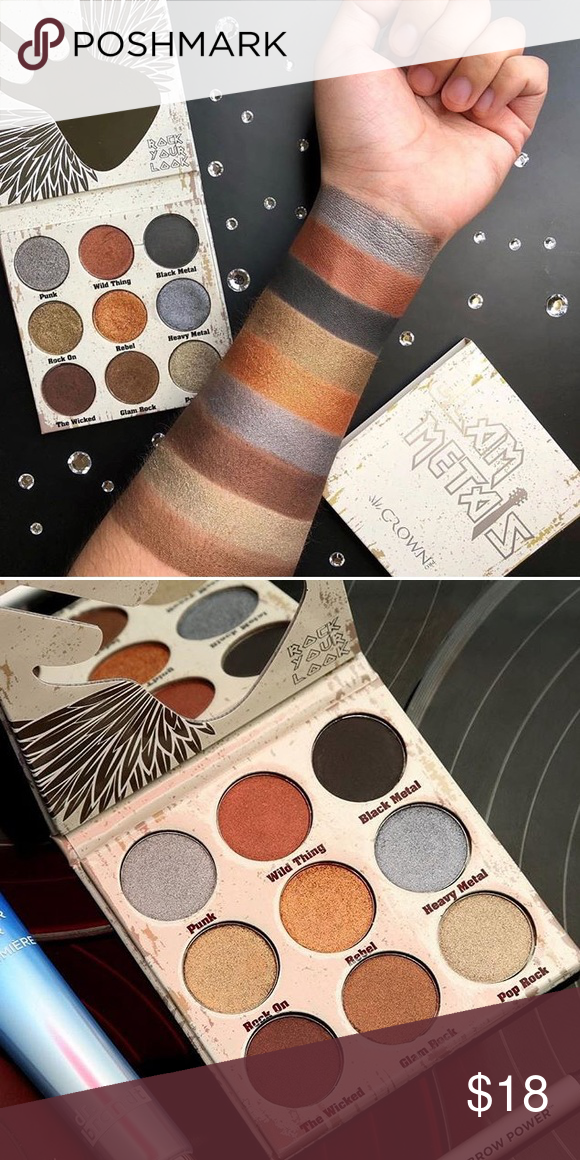Name brand makeup bundle ! Swatched ; never used ; one eyeshadow palette, blush & bronzer/blush duo crown Makeup Eyeshadow