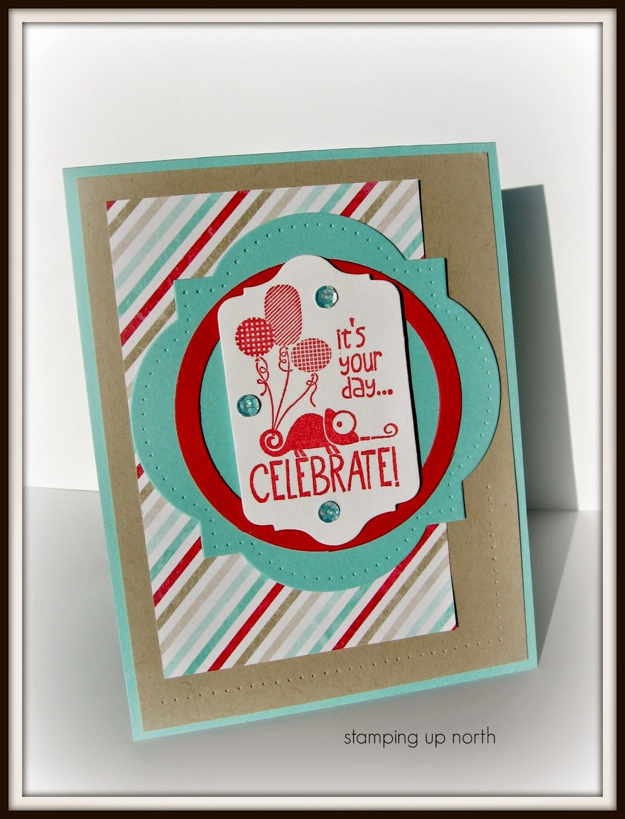 Stamping up north paper players th challenge cards pinterest