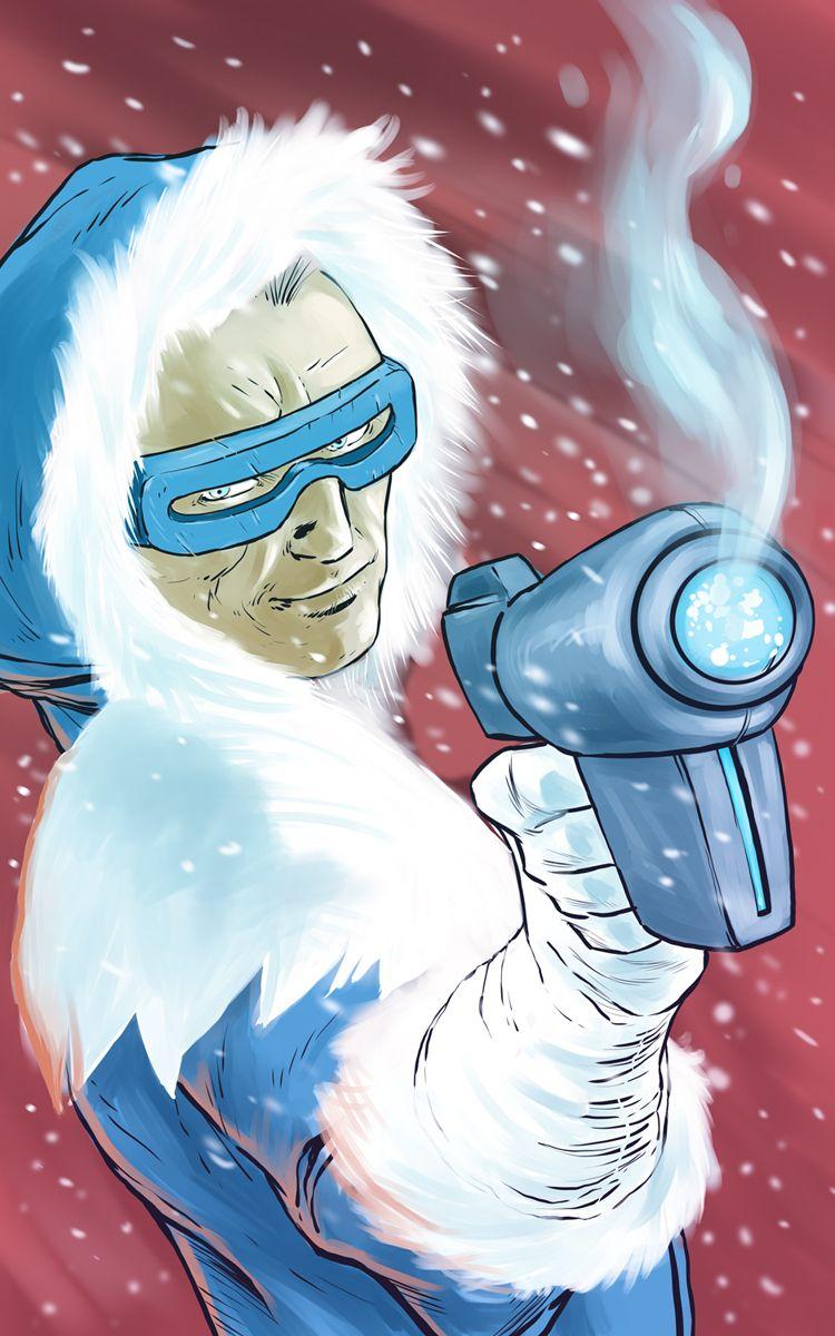 Captain Cold By Jaimecastro On Deviantart Dc Comics Art Cartoon Dc Villains