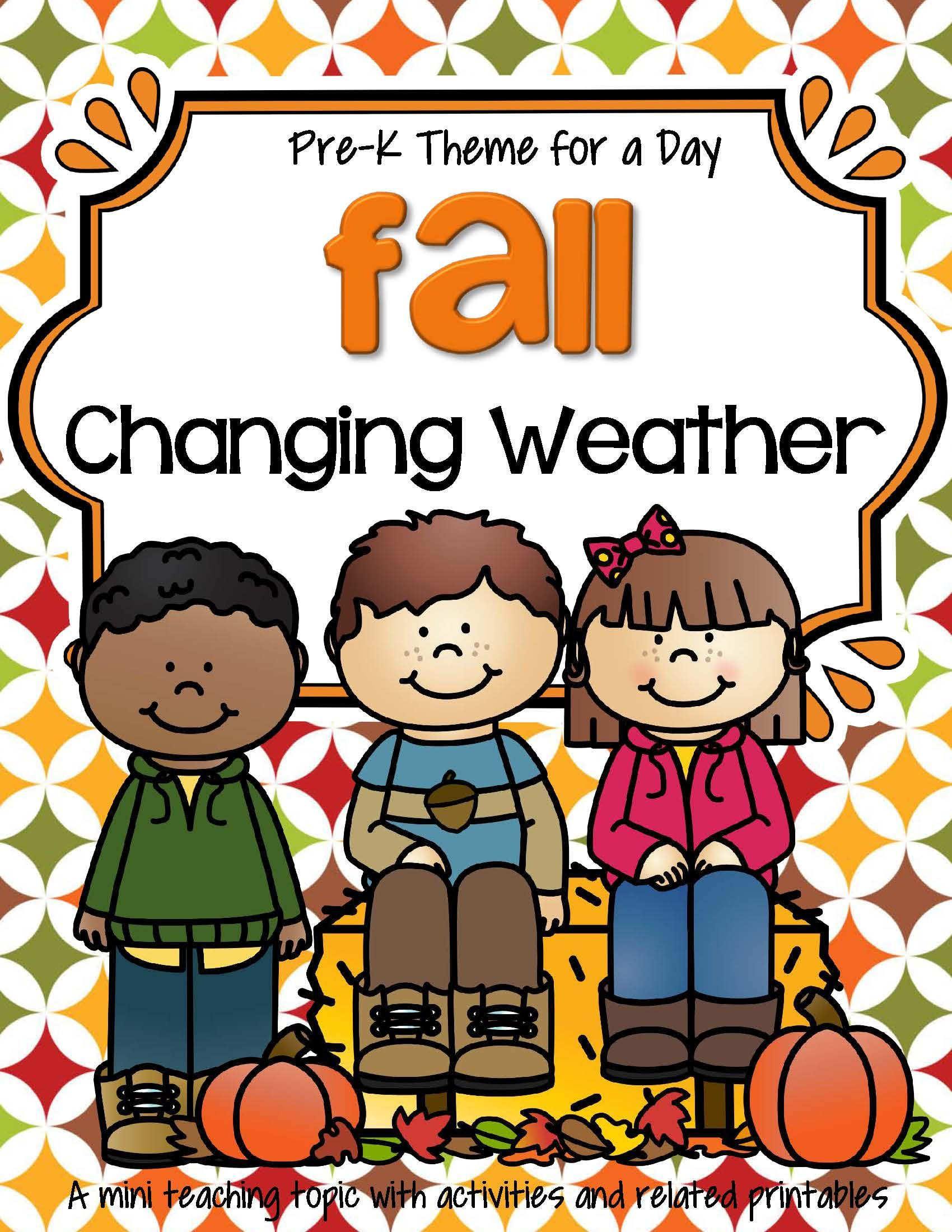 Activities And Printables To Teach About Fall Weather