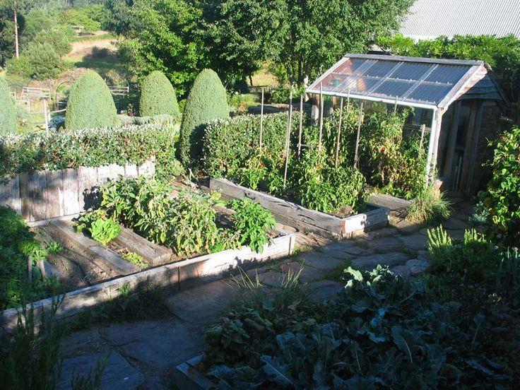 Small Vegetable Garden Ideas Ideas jardin Pinterest - diseo de jardines urbanos