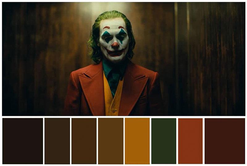 La Perfecta Paleta de Colores de 'Joker' Paletas de