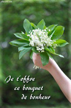 carte 1 mai gratuite Épinglé sur fleur