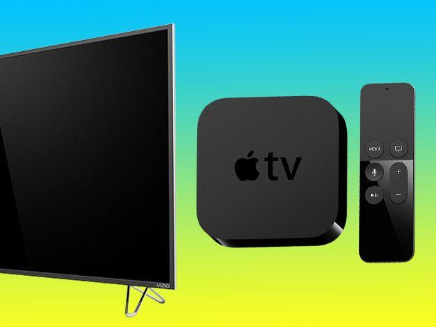 "A 50"" VIZIO SmartCast™ UHD TV & and 64GB Apple TV Giveaway"