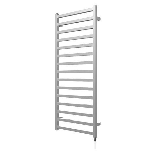 Electric straight curved bathroom heated towel rail radiator wall ladder warmer