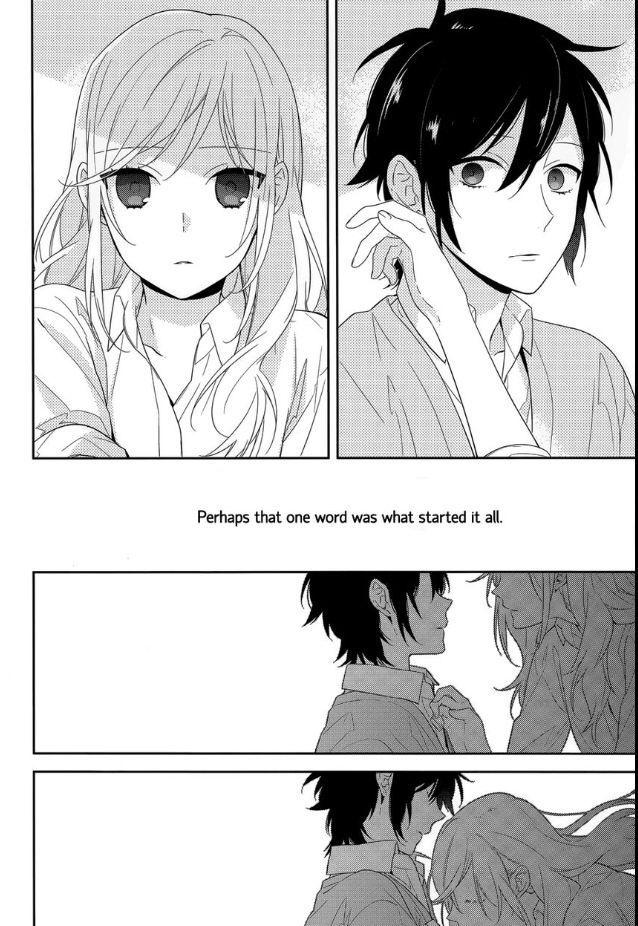horimiya  Horimiya Kiss kiss kiss! | Horimiya | Pinterest | Manga, Horimiya ...