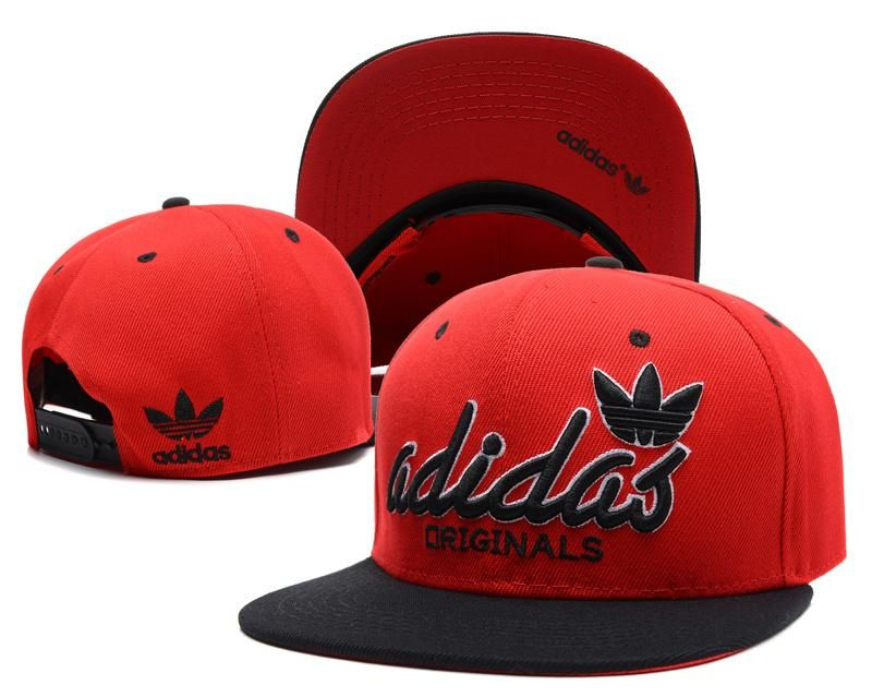 Mens Adidas Originals Script Adidas Logo Front Best Quality Retro Baseball  Snapback Cap - Red   Black   Black d3bda0cdc0f