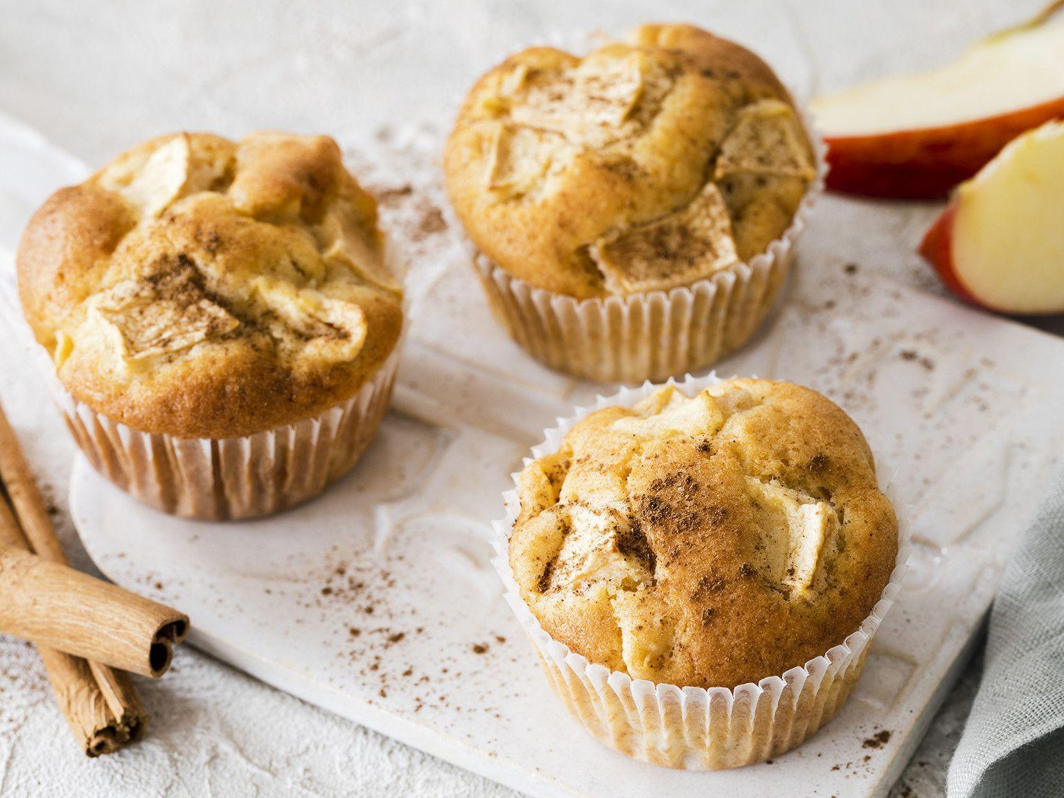 Apfel-Zimt-Muffins – schnell & einfach | Die besten Backrezepte mit Gelinggarantie