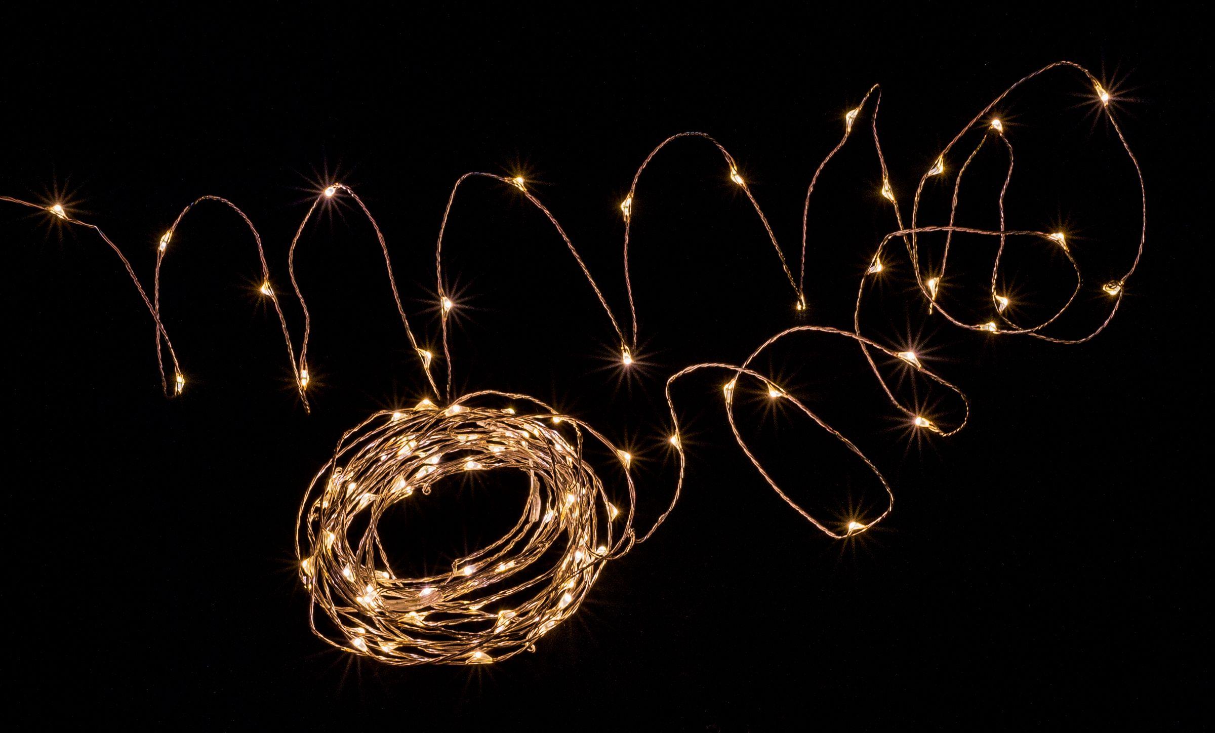 super popular e6969 2da3d Pin on Warm White LED String Lights
