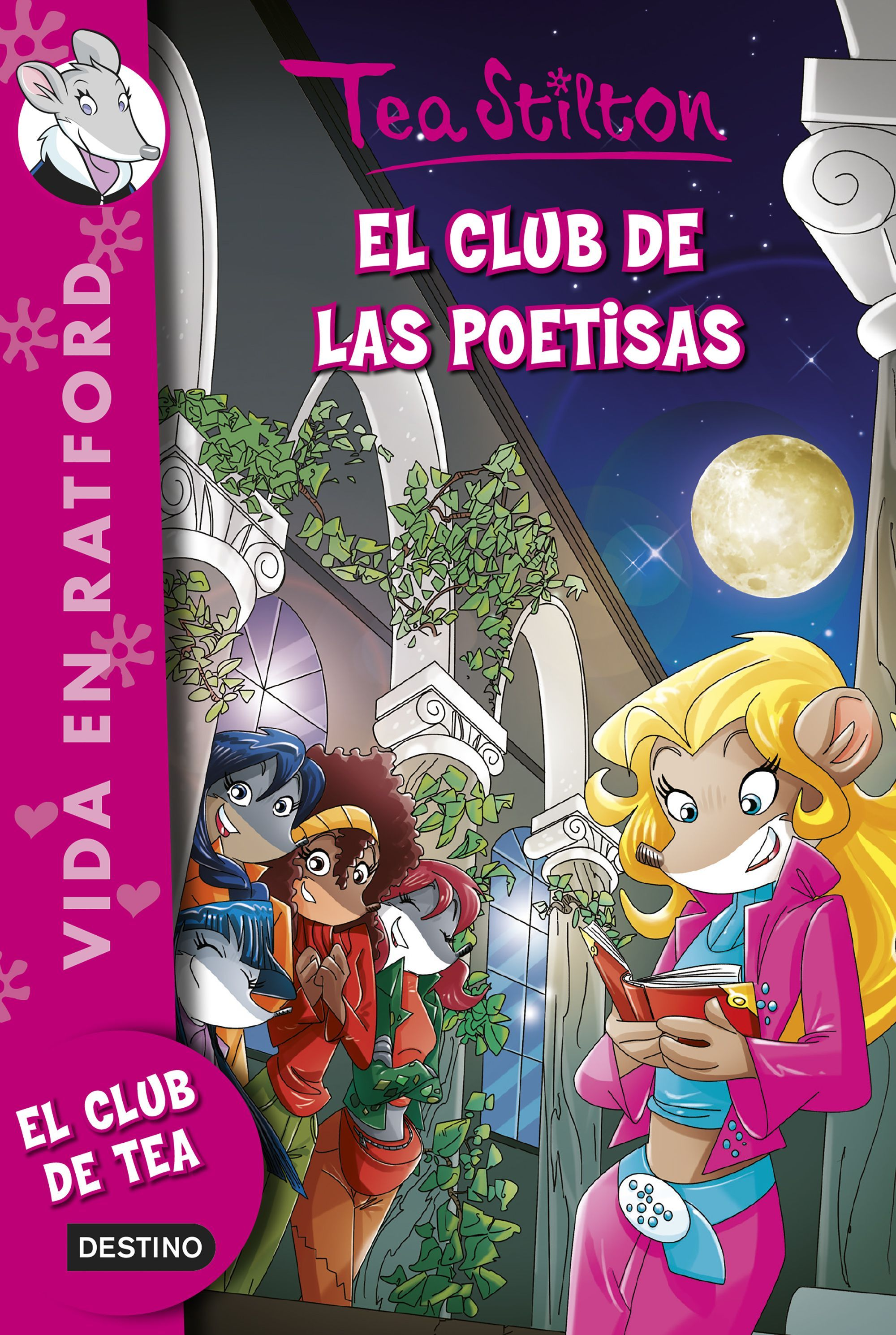 Libros De Tea Stilton Para Leer El Club De Las Poetisas De Tea Stilton Editorial
