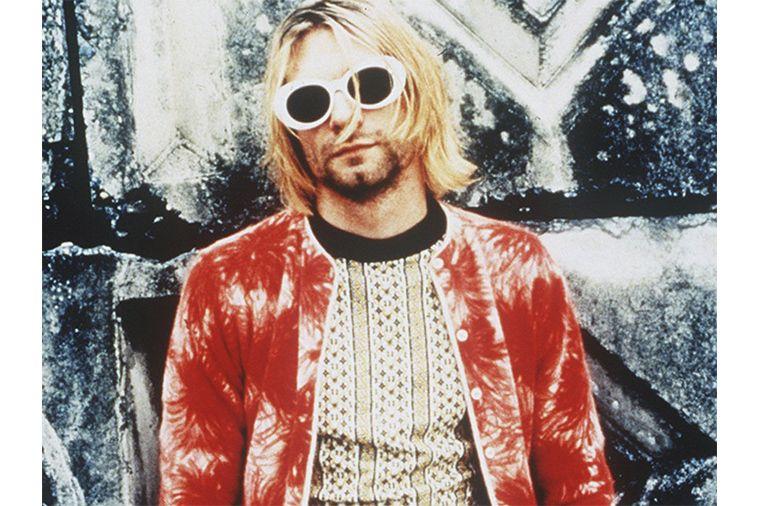 be126f17dc5c Kurt Cobain Style Fashion Clothes Grunge-Kurt Cobain White Sunglasses- The  Dapifer