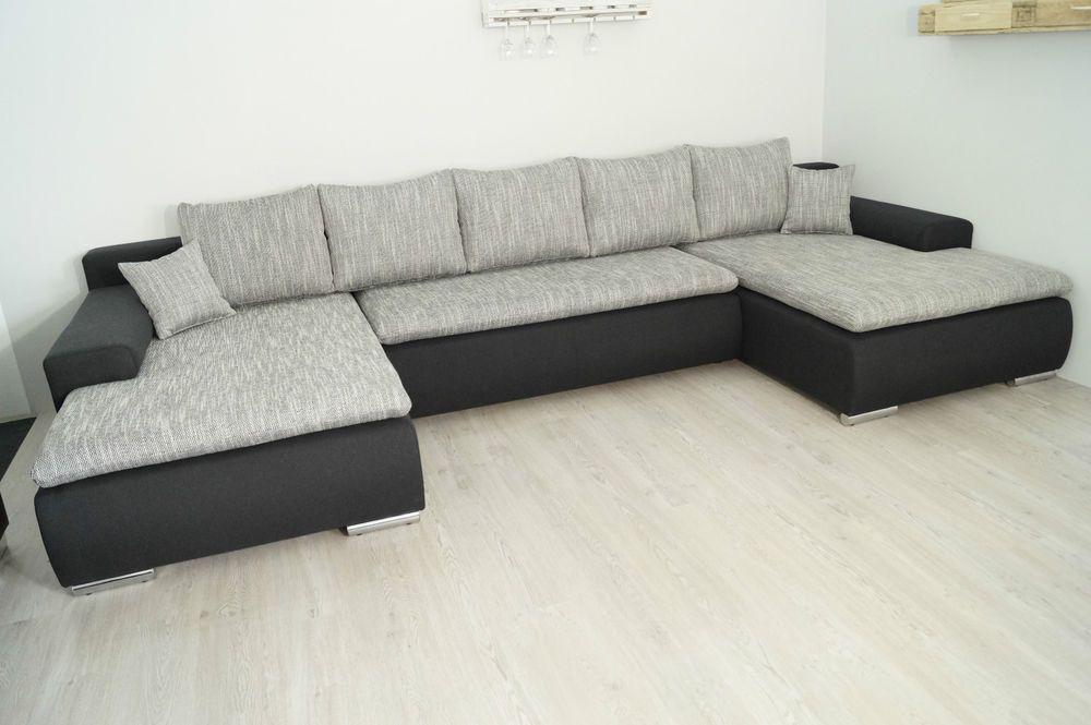 NEU Sofa COuch Wohnlandschaft BETTSOFA SCHLAFCOUCH www.xl-sofa.de ...