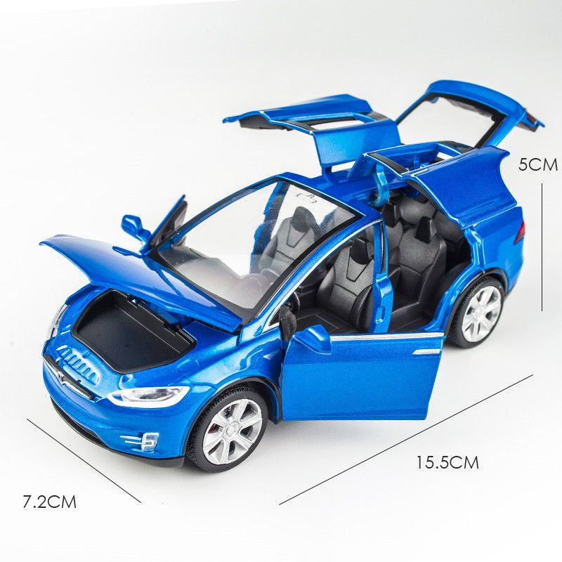 New 1 32 Tesla Model X Alloy Car Model Diecasts Toy Vehicles Toy Cars Free Shipping Kid Toys For Children Christmas Gifts Kid Shop Global Kids Baby Shop