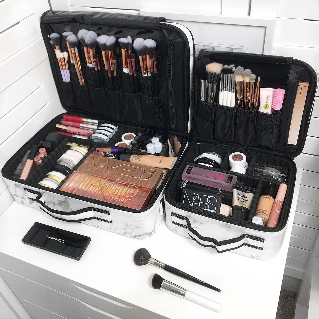 Stagiant Rose Gold Makeup Bag Organisation Maquillage Maquillage De Voyage Bon Maquillage