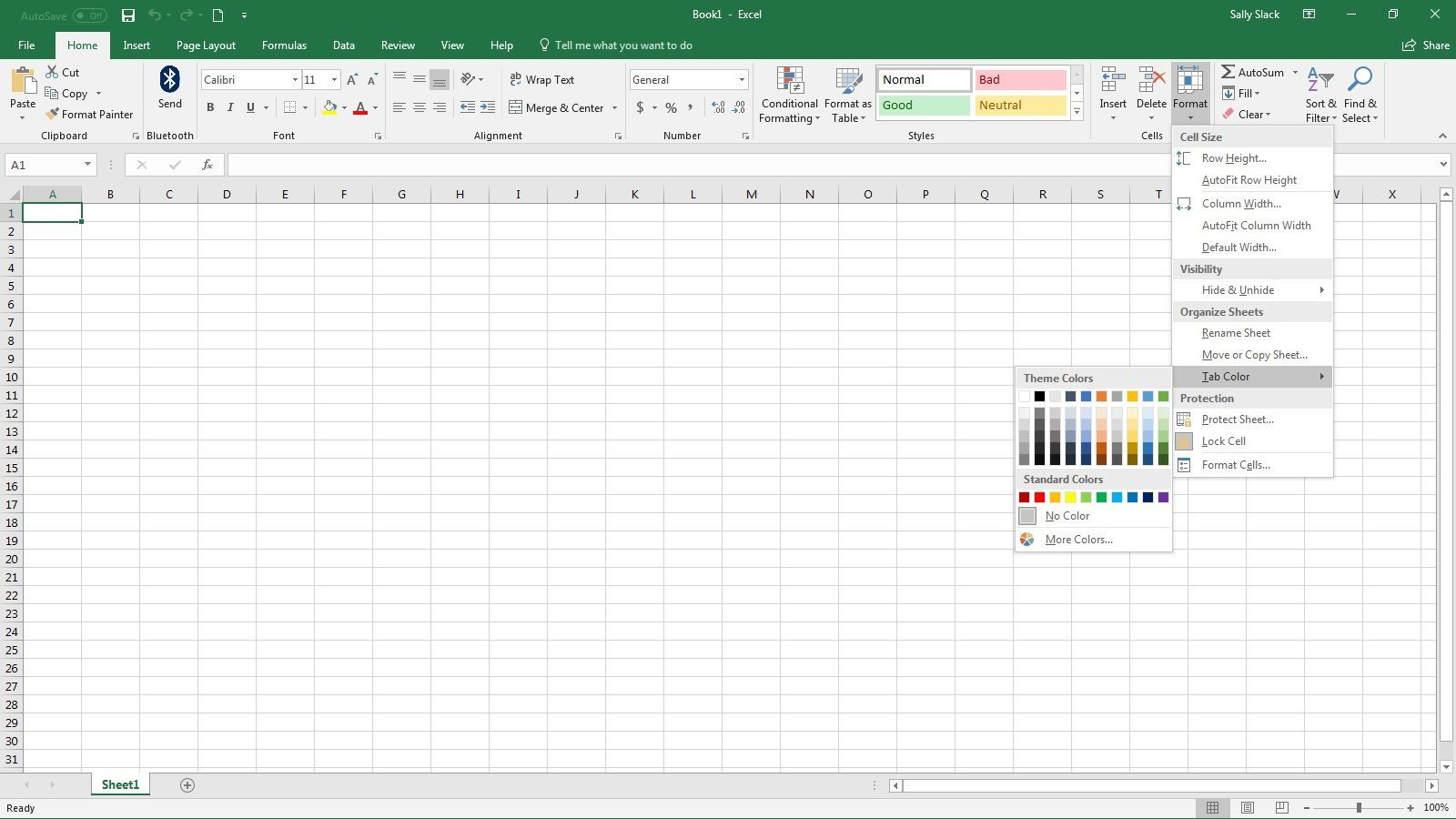 Changing Tab Colors In Excel Is A Breeze