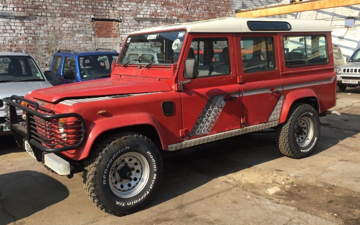 Station Wagon Alternative Land Rover Defender 110 County Trucks Usa Landrover