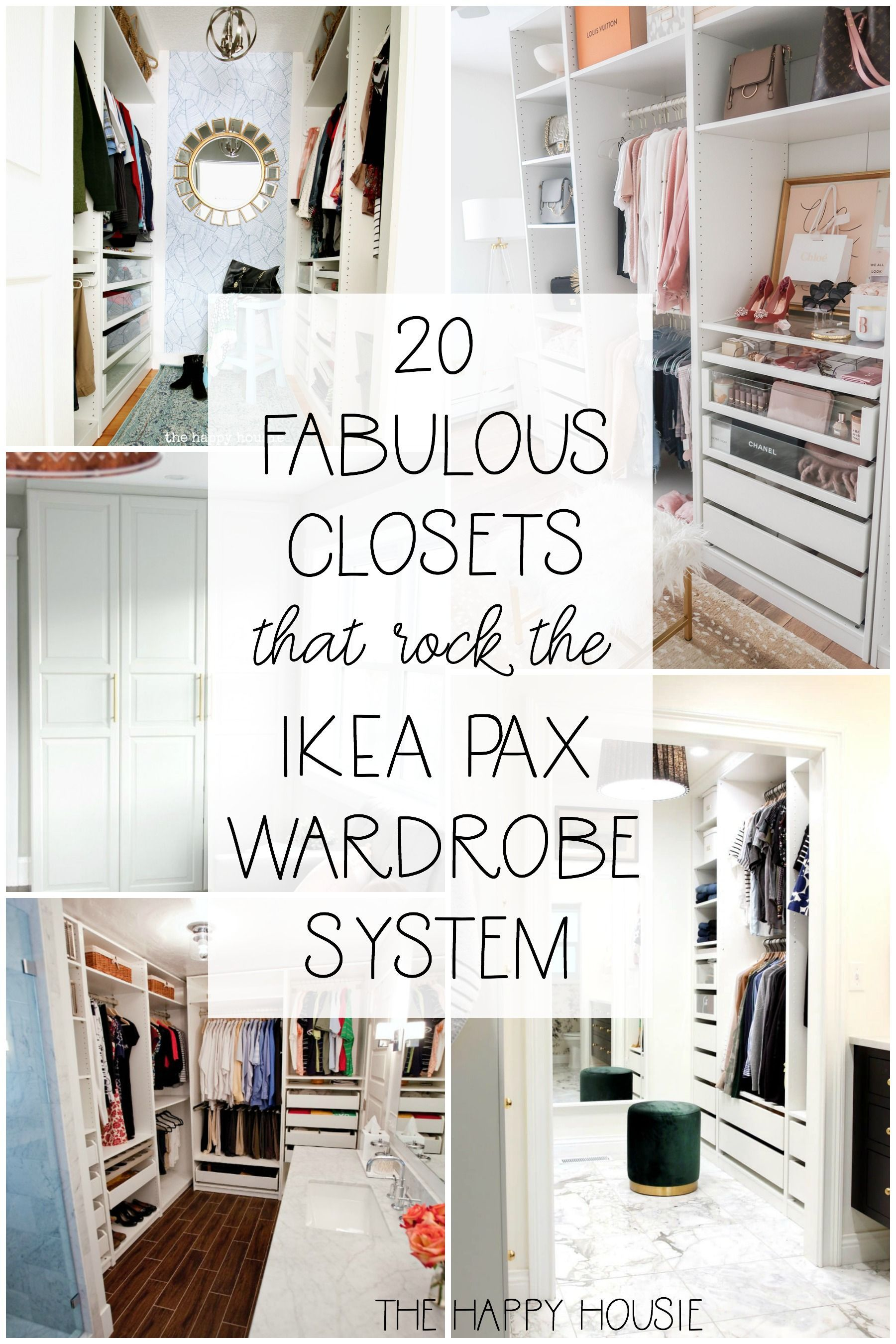 closets collection IKEA Organized Pax twenty wa