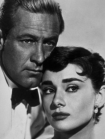 """Sabrina"" Audrey Hepburn and William Holden"