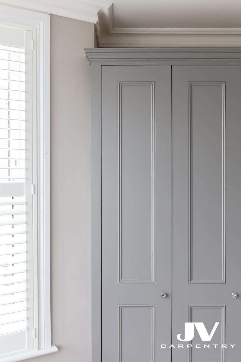 Shaker Beaded Doors With Cornice Fitted Wardrobes Bedroom Wardrobe Door Designs Built In Cupboards Bedroom