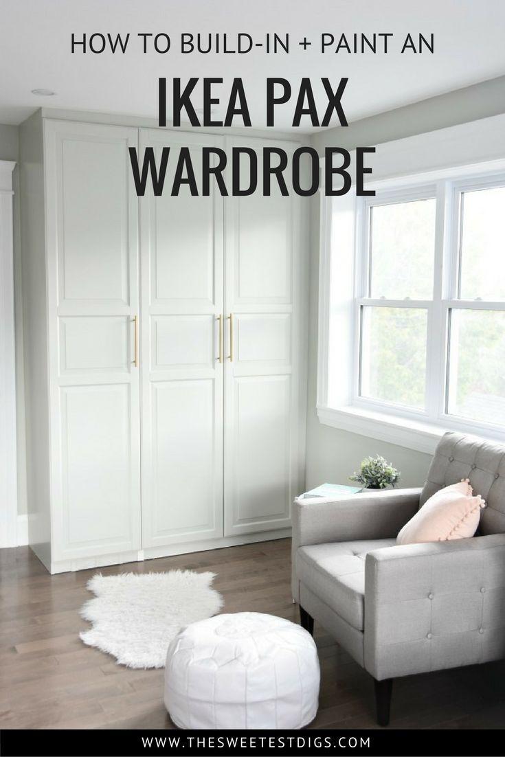 Get A Stunning Closet With This Ikea Pax Hack Ikea Pax Wardrobe