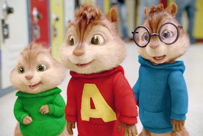 Alvin And The Chipmunks The Road Chip Movie Dvd Con Imagenes
