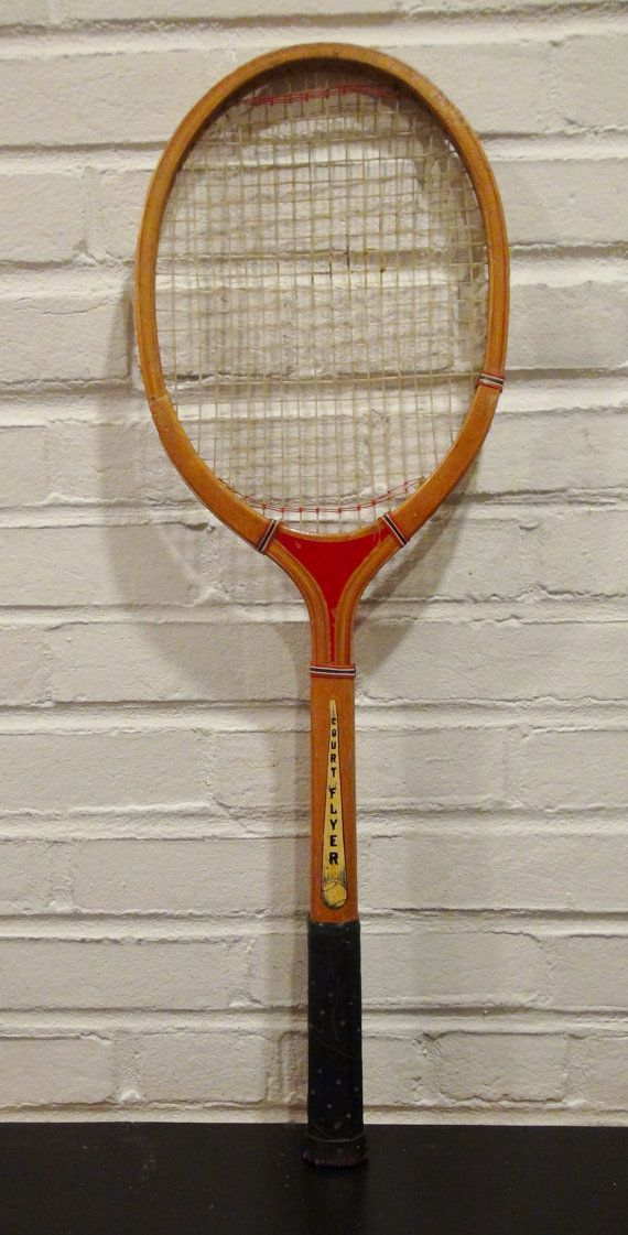 Vintage Wood BentleyWilson Tennis Racket / by