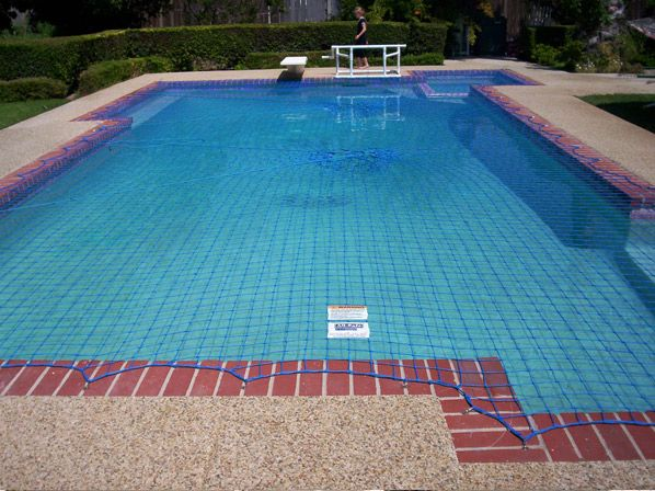 Swimming Pool Safety Nets Secure Your Pool With All Safe Swimming Pool Safety Pool Safety Net Pool Nets
