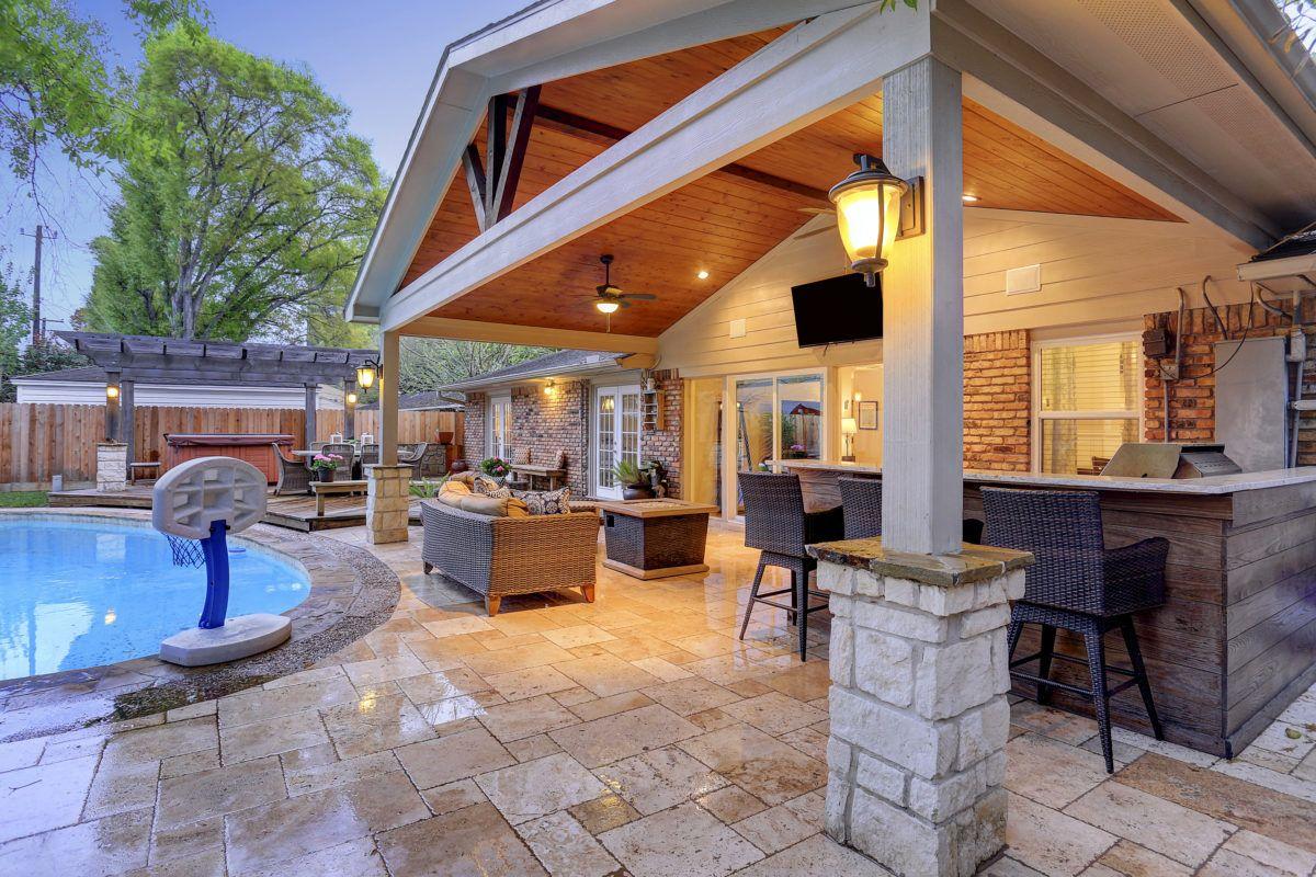 Outdoor Kitchens Houston Dallas Katy Cinco Ranch Texas Custom Patios Patio Design Outdoor Living Concrete Patio