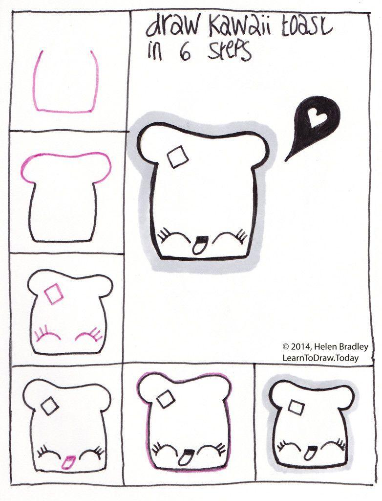 Afbeeldingsresultaat Voor Bever Na Tekenen Makelijk Easy Drawings Kawaii Drawings Cute Drawings