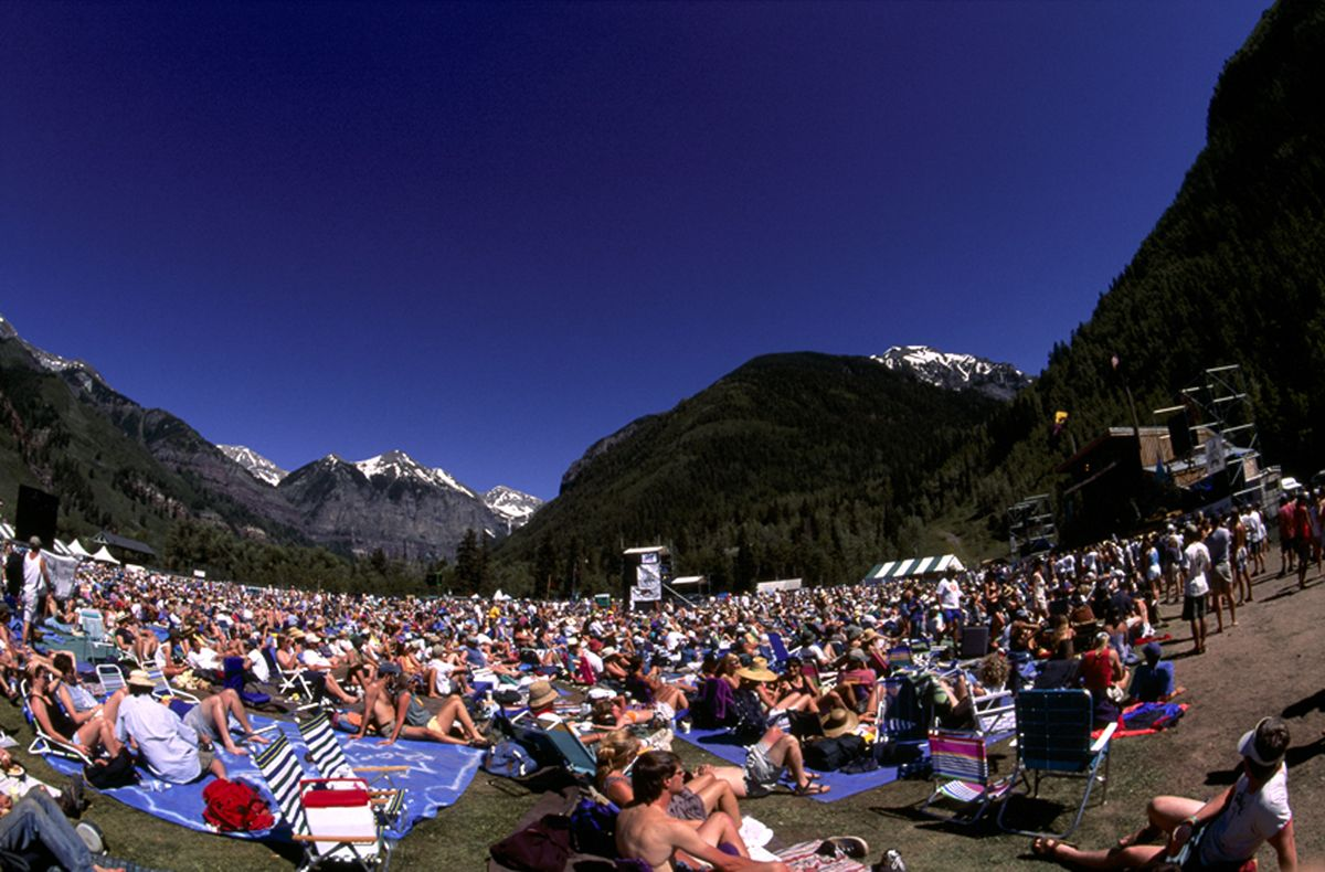 Telluride Bluegrass Festival 114 More Days Can T Handle It Telluride Bluegrass Bluegrass Listening To Music