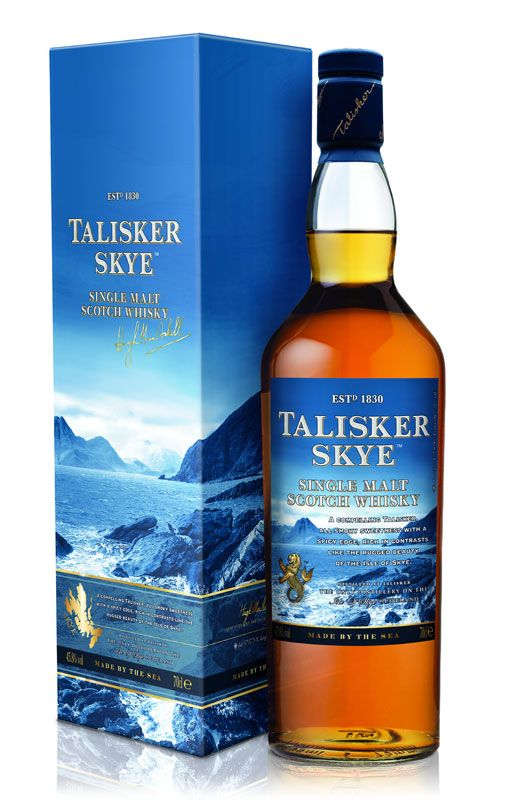 Talisker Skye. Tasted on a whisky festival.