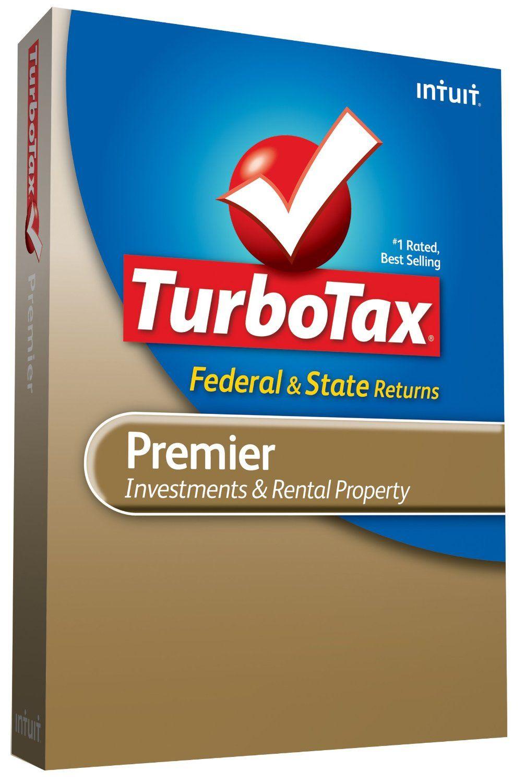 TurboTax Premier Federal + State + Federal efile 2009 best ...