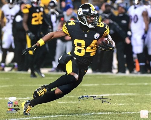 sports shoes 71feb ae03f Antonio Brown Signed 16x20 Pittsburgh Steelers Alternate ...