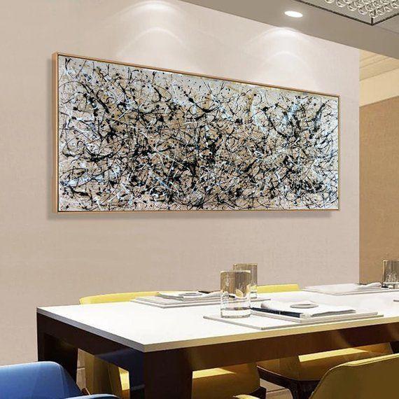 Extra Large Canvas Art Largeneutral Wallart Largeacrylic Etsy Large Abstract Painting Large Canvas Art Abstract Large Oil Painting