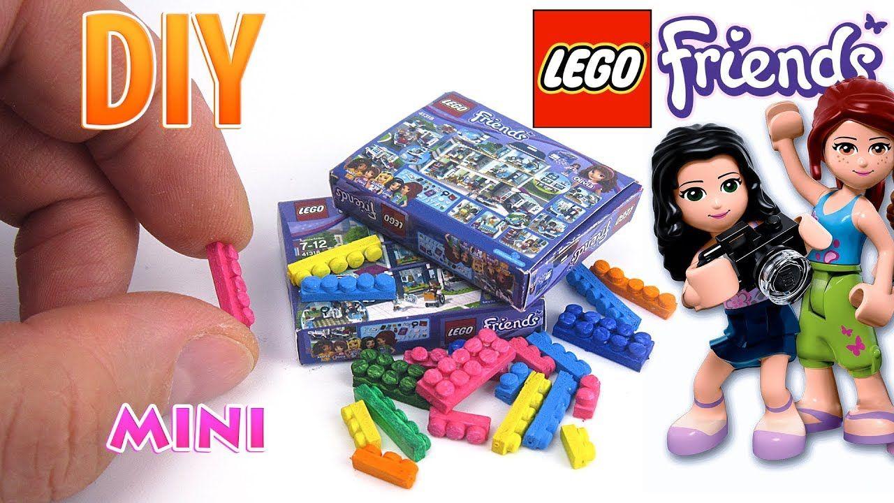 Diy Miniature Lego Friends Set Dollhouse No Polymer Clay Diy