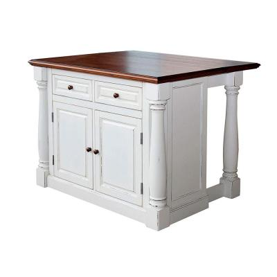 Monarch White Kitchen Island With Drop Leaf Drop Leaf Kitchen Island White Kitchen Island Kitchen Island With Seating