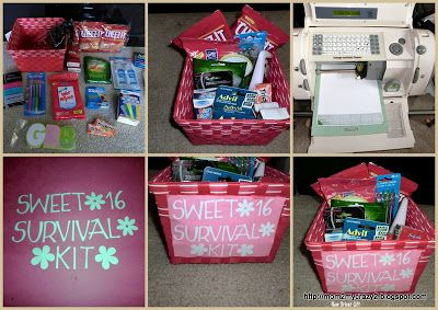 Birthday Gift Ideas Another Version Of Sweet 16 Survival Guide